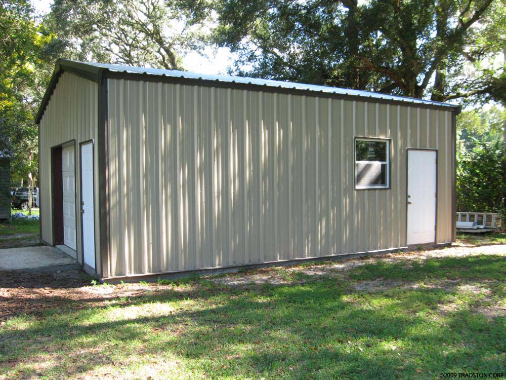 Prefab Garage Workshops Workshop Steel Buildings Metal