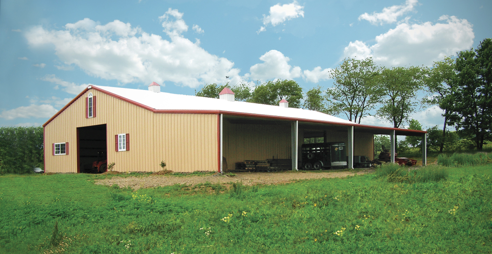 Agricultural steel buildings metal farm buildings pole for Barn home builders near me