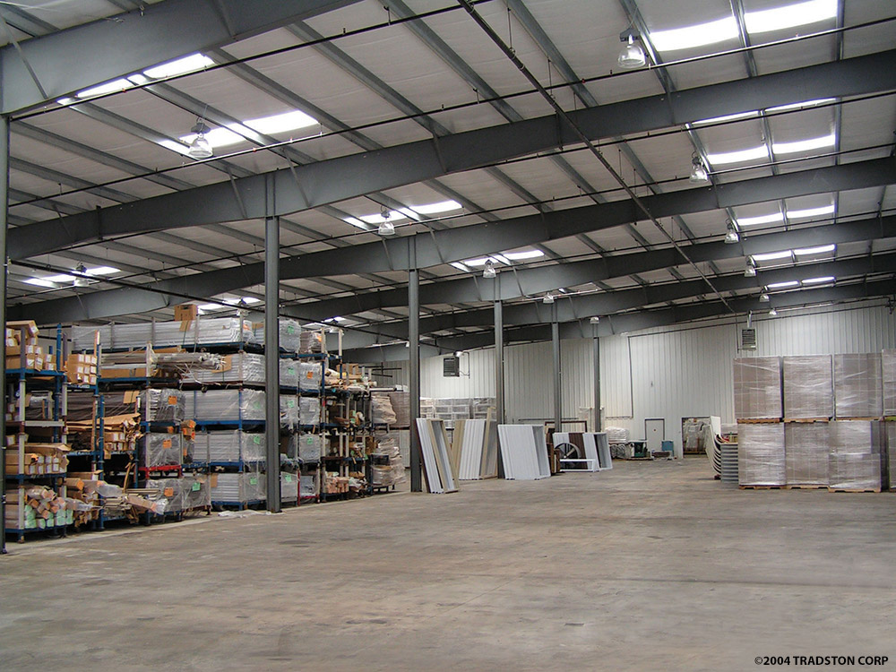 Steel building warehouses metal warehouse buildings for Warehouse plans designs