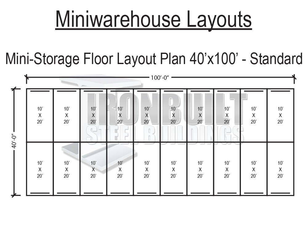 storage unit building plans