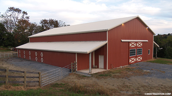 Metal horse barns hose barn kits steel horse barn buildings for Metal barn home kits