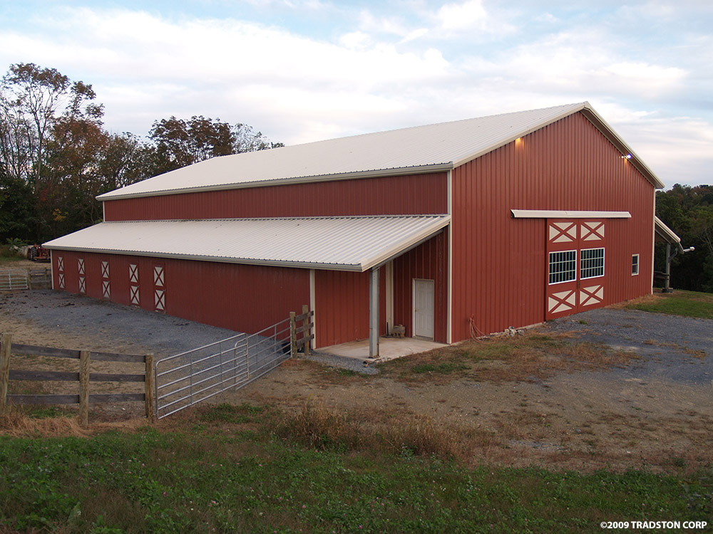 Horse barn photo gallery joy studio design gallery for Barns designs