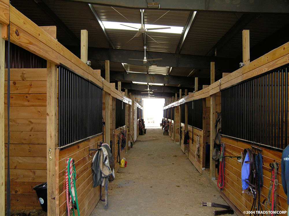 Horse Stables And Barns : Metal horse barns hose barn kits steel buildings