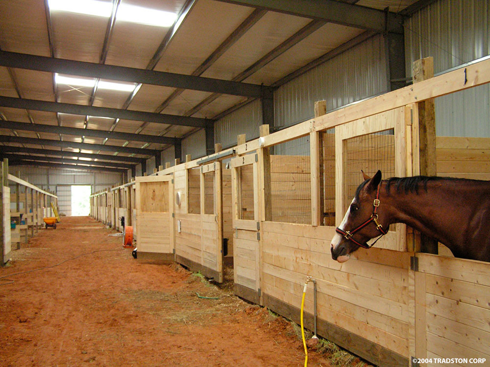 Metal horse barns hose barn kits steel horse barn buildings for Horse barn materials