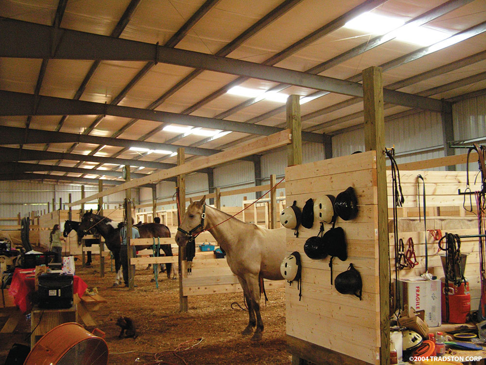 Ironbuilt Steel Building Horse Barn Gallery