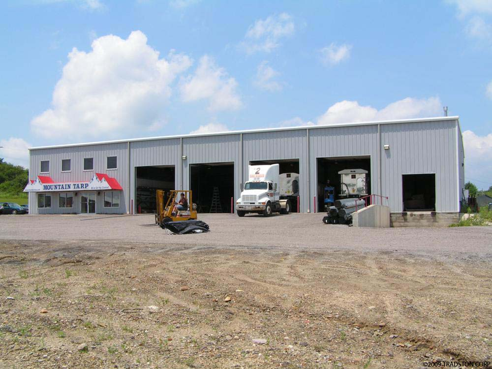 Metal Building Truck Garages Steel Truck Garage Buildings