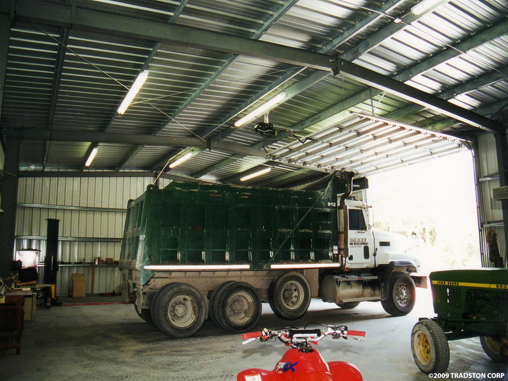 Garages For Trucks : Metal building truck garages steel garage buildings
