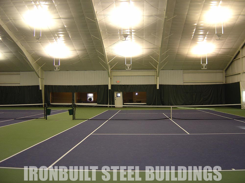 Recreational steel buildings metal gymnasiums sports Cost to build basketball court