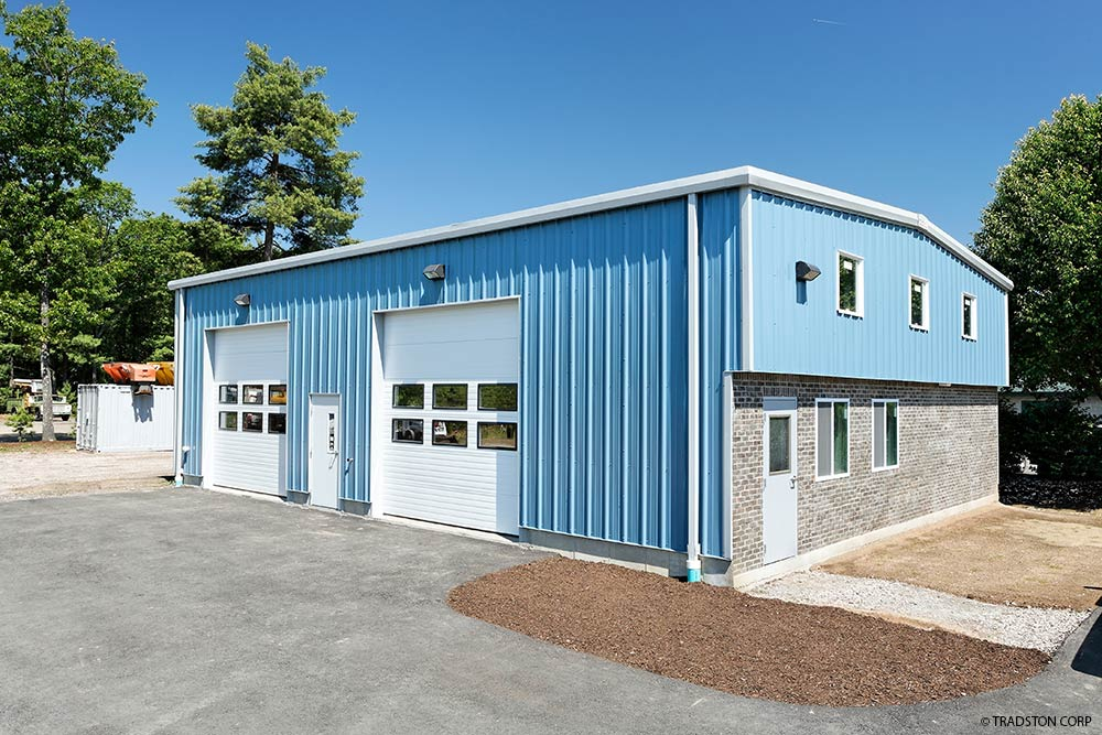 Residential metal buildings steel workshop buildings for Small metal homes for sale
