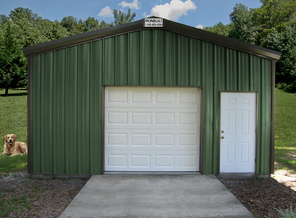 Residential metal buildings steel workshop buildings 3 car metal garage kits