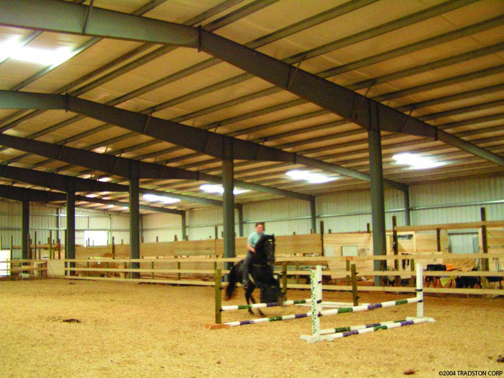 Preengineered Equestrian Building Riding Arena Steel