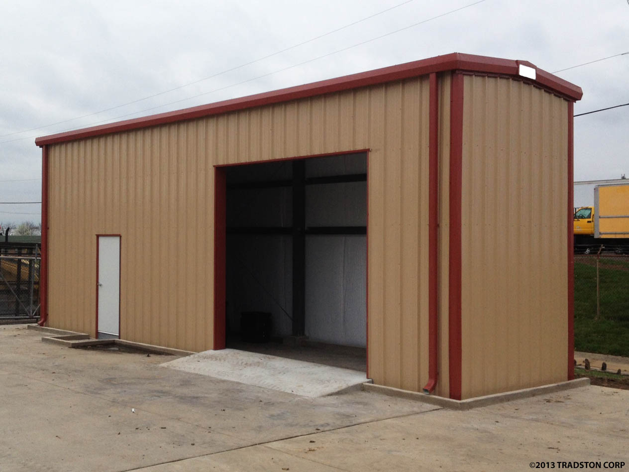 Residential Small Steel Buildings Metal Building Kits
