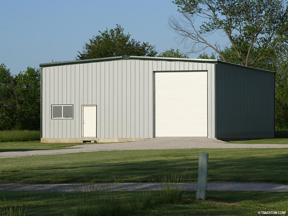 Residential small steel buildings small metal building kits for Small metal barns