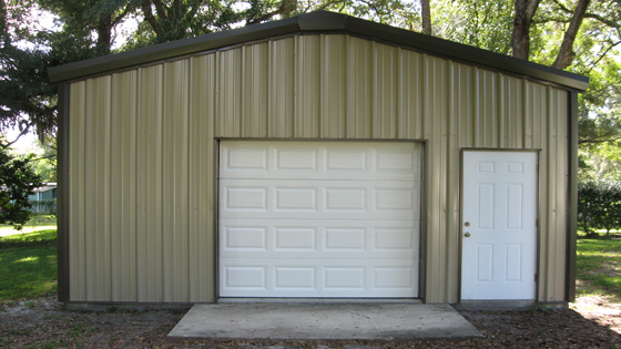 metal storage sheds steel building shed kits - Garden Shed Kits