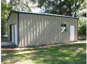 small garage workshop building for residential use