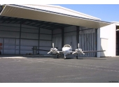 steel hangar building for aircraft storage