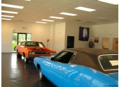automobile dealership steel building showroom