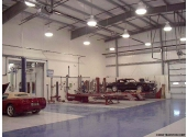 multiple bay car repair prefab metal building