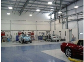 auto repair metal building with insulation