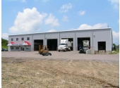 preengineered commercial building with warehouse
