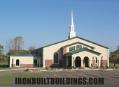 preengineered church building for offices