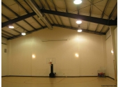 church recreational steel building for basketball
