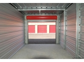 mini storage unit with galvanized steel frames