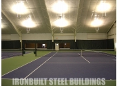 recreational metal building indoor tennis court