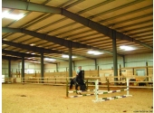 riding arena steel building