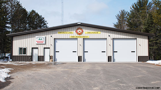 Government steel buildings gsa and municipal metal buildings for Pre engineered garage