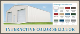 View Sheeting Colors and Profiles