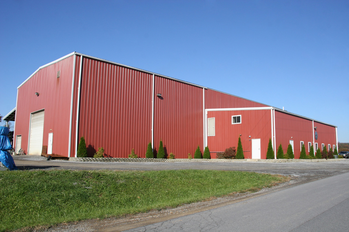 Steel Metal Buildings : Steel buildings made in pennsylvania prefab garage metal
