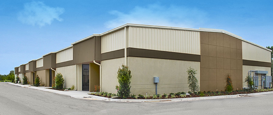 Commercial Steel Garages With An Overhand : Steel buildings metal prefabricated